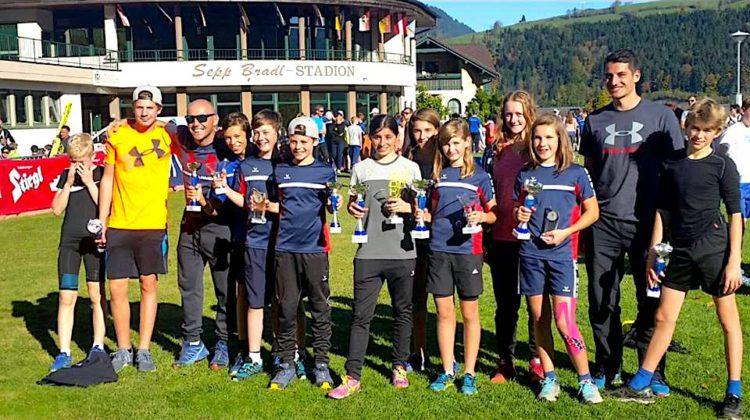 Nachwuchsadler feierten Erfolge in Bischofshofen