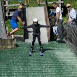 Fotos – Schnuppertraining für Skispringer