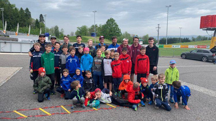 Training mit OÖ. Vereinen