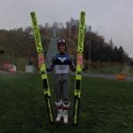 Stefan Kraft trainiert in Hinzenbach