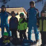 Erstes Training auf Schnee in Hinterstoder
