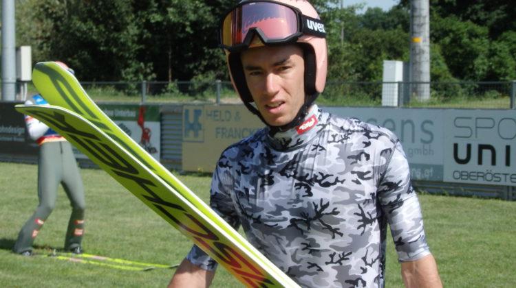 ÖSV Springerkader trainierte in Hinzenbach