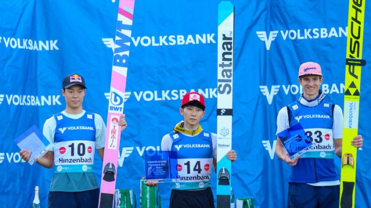 Skisprung Weltelite in Hinzenbach und Kinder4schanzentournee
